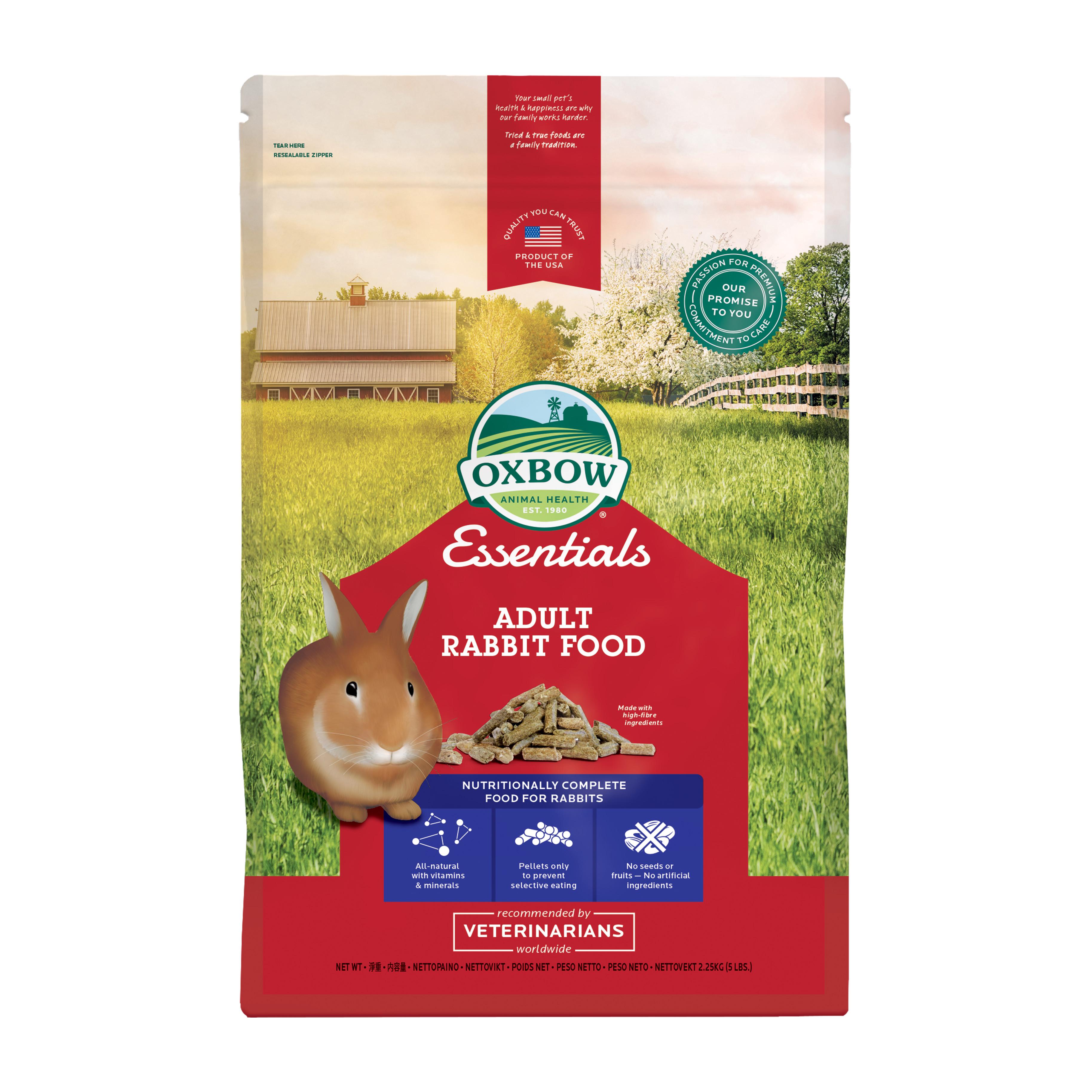 Kaninpellets för vuxna kaniner - 2,25 kg