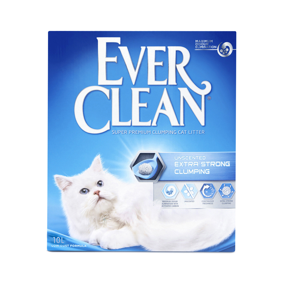 Extra Strong Unscented kattsand - 10 L