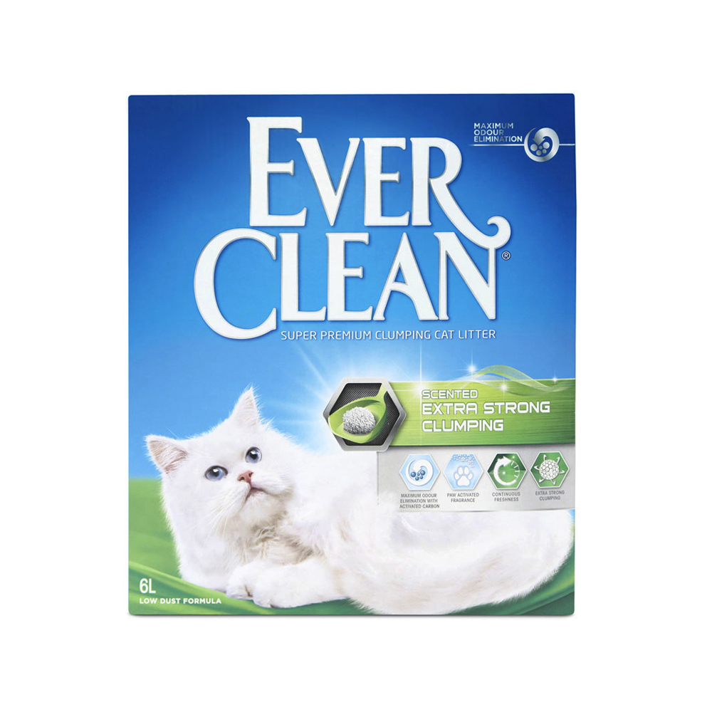Extra Strong Scented kattsand - 6 L