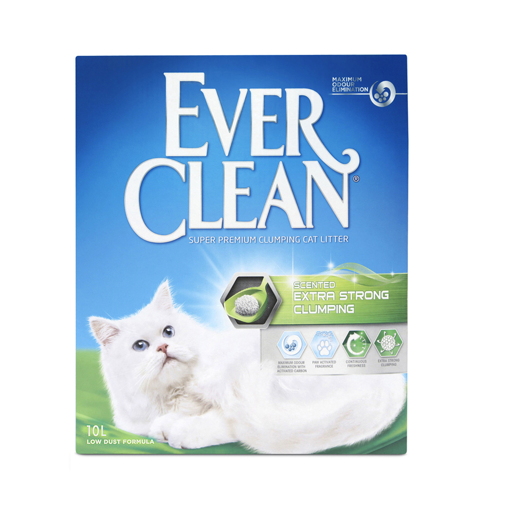 Extra Strong Scented kattsand - 10 L