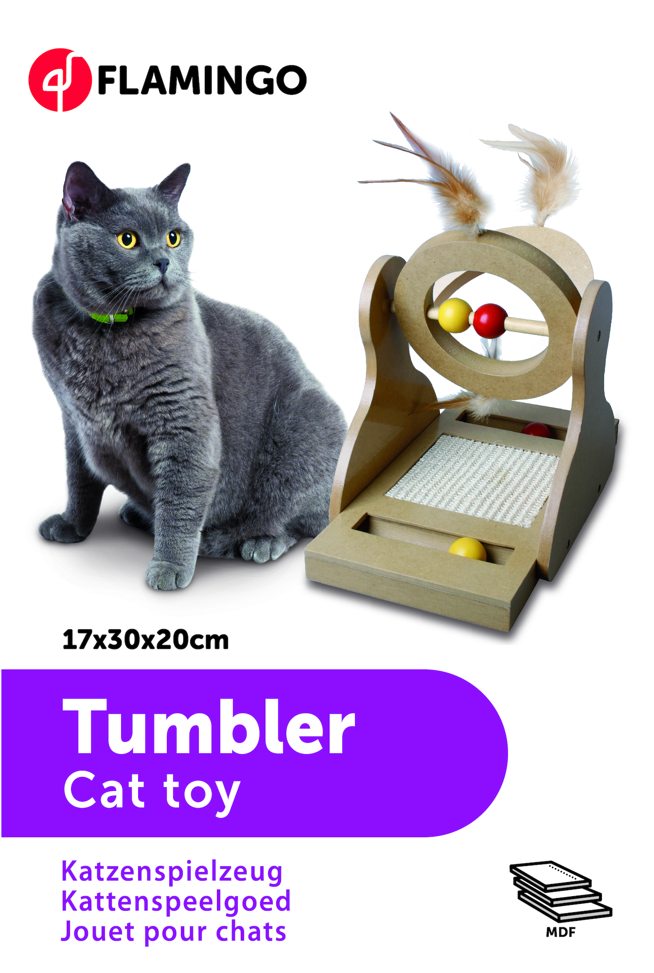 """Tumbler"" Kattleksak"