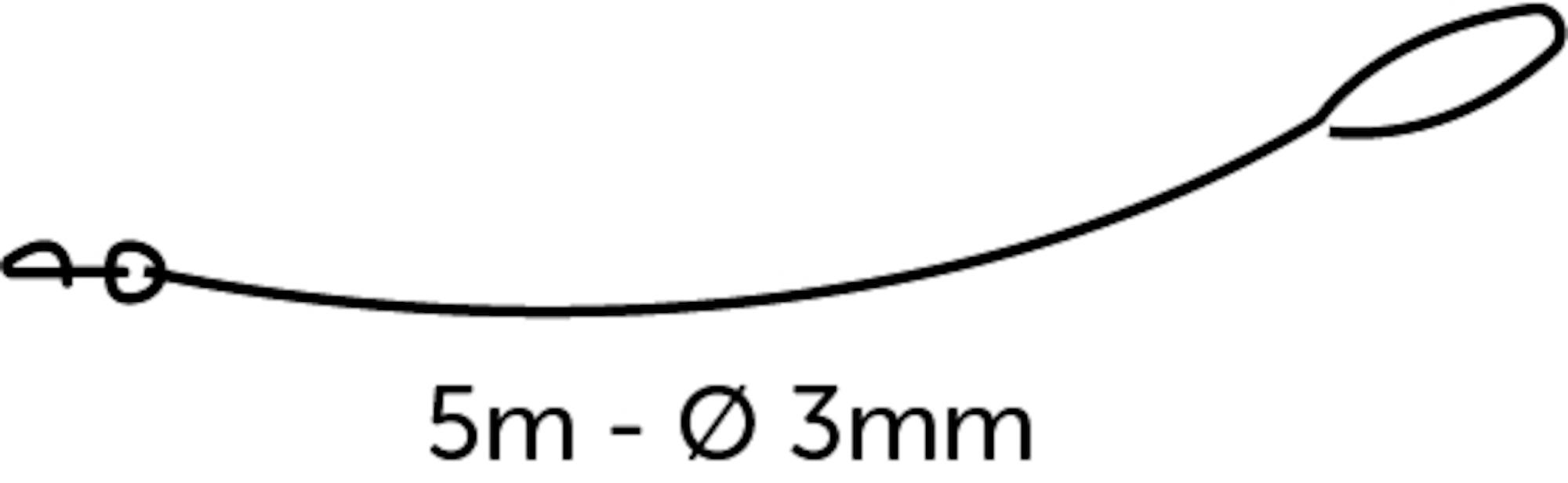Kattkoppel 5 m
