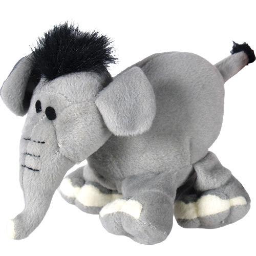 Elefant i plysch