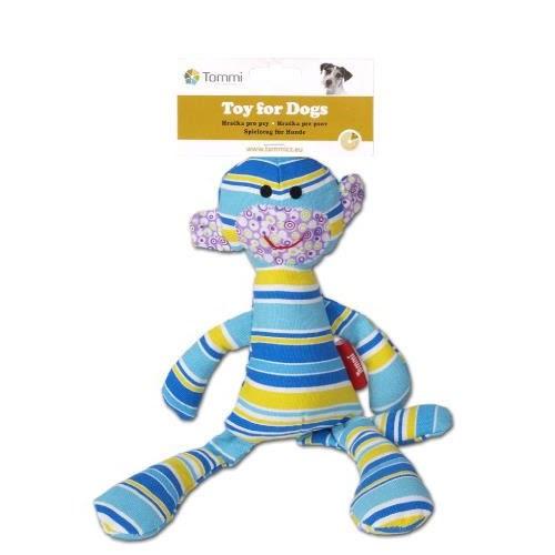 E.T.  Tygdjur - Randig i blå nyanser