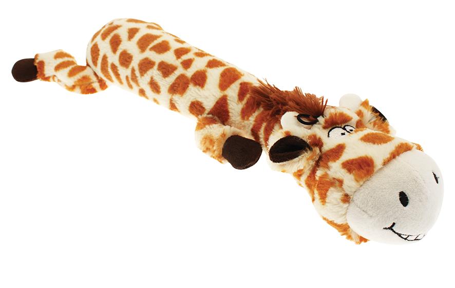 Långt djur i plysch - Giraff