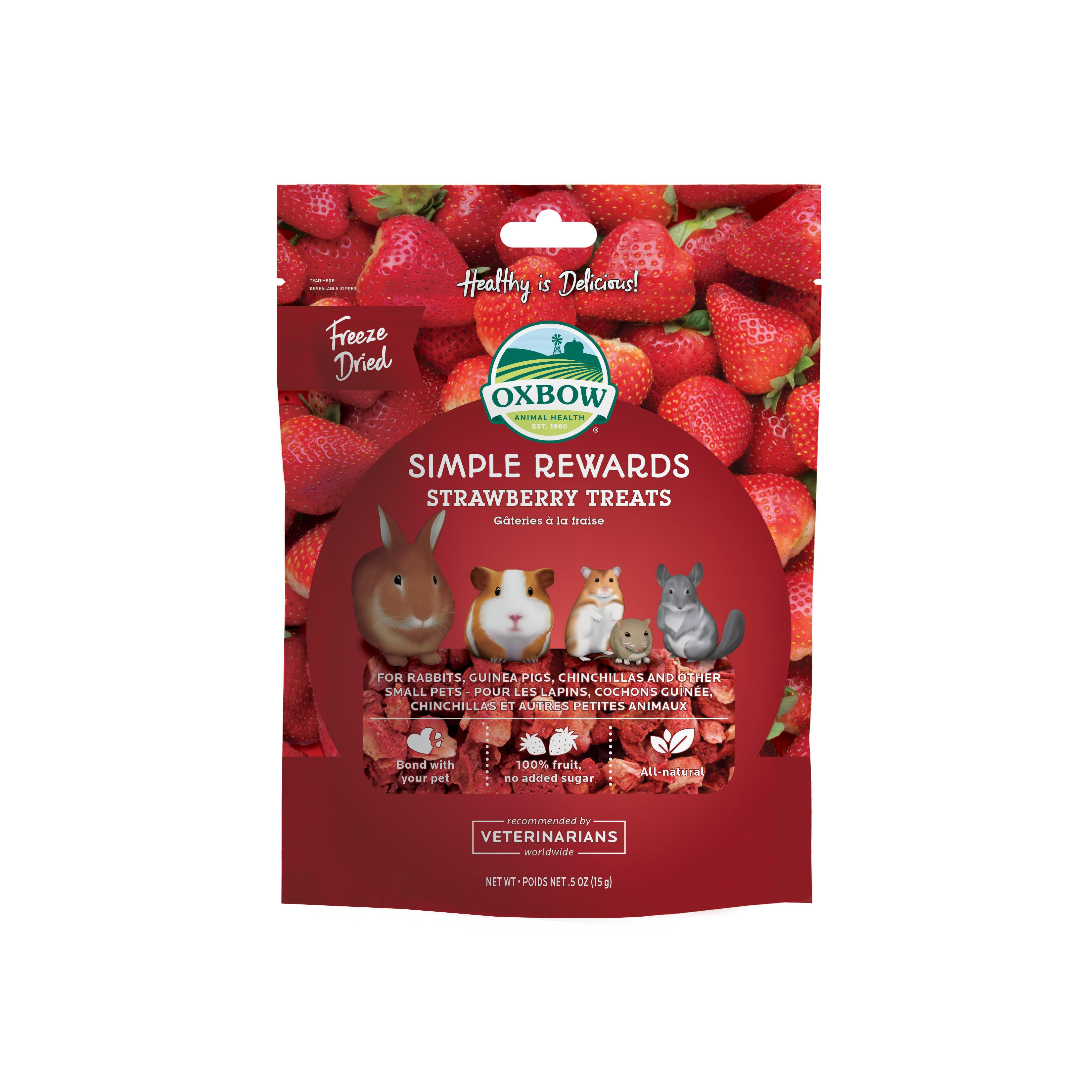 Simple rewards Strawberry treats - 15 g