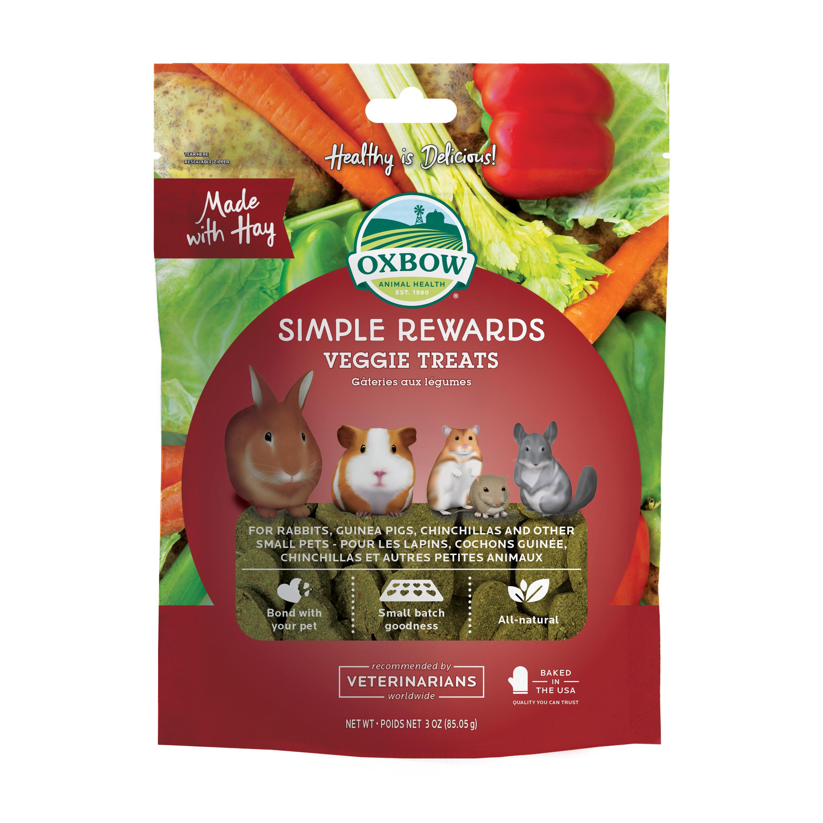Simple Rewards Veggie treats - 60 g