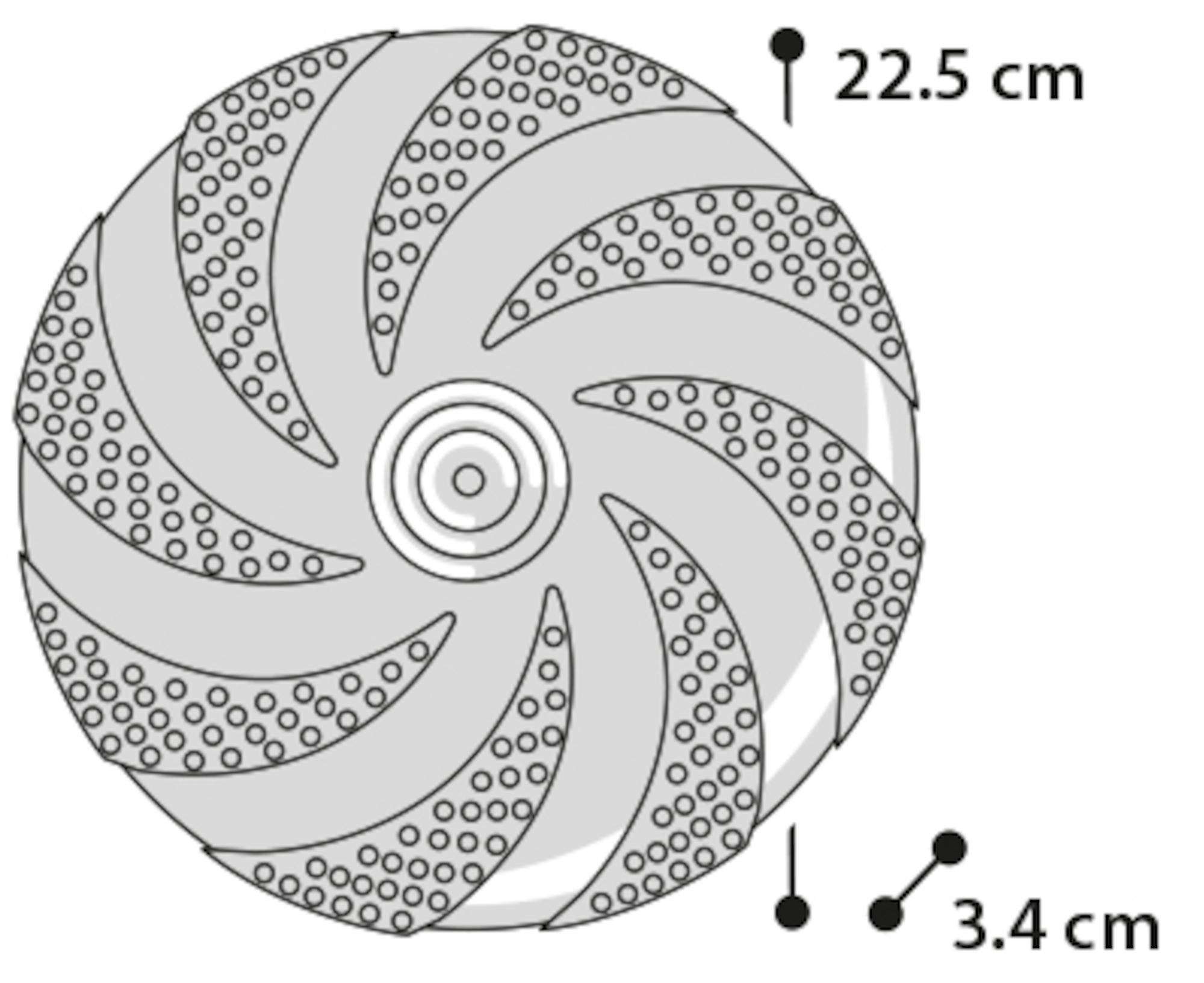 Gummifrisbee - M