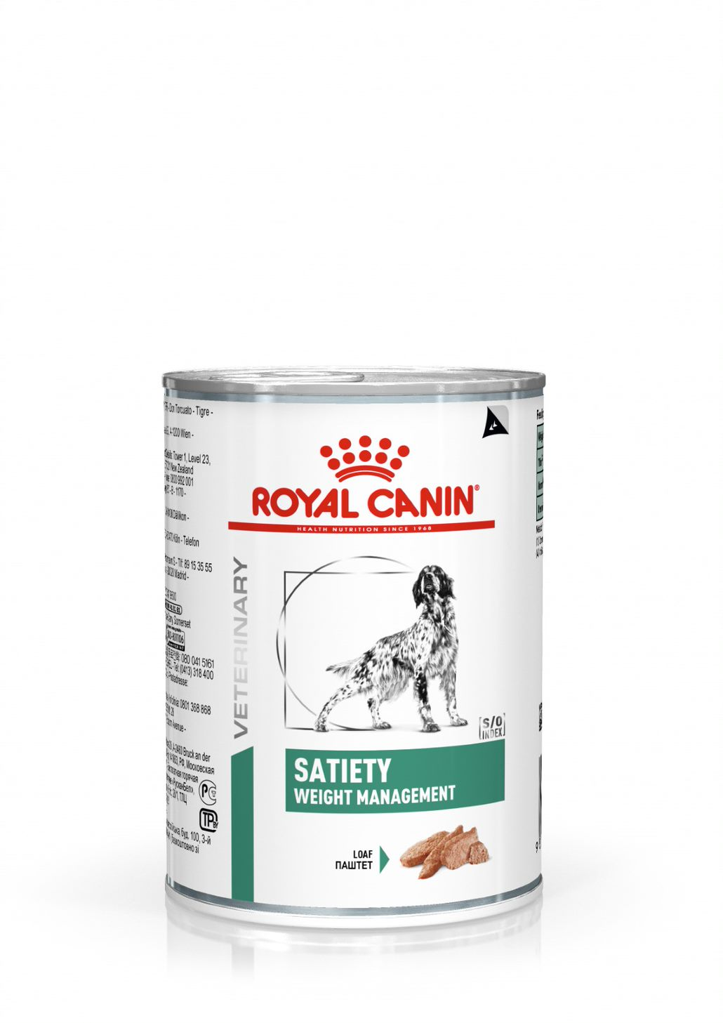 Veterinary Diets Weight Management Satiety Loaf Can - 12 x 410 g
