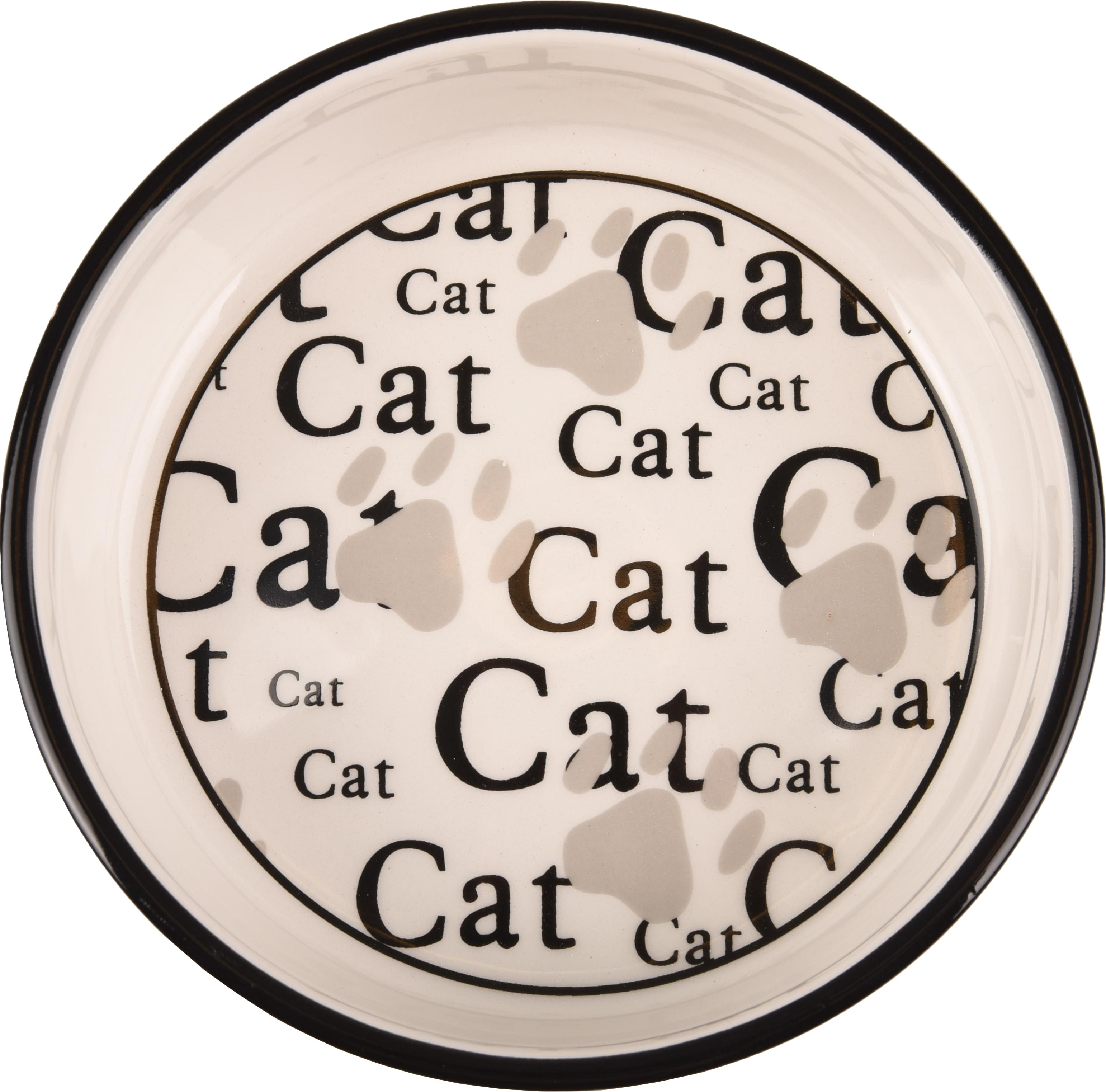 Kattskål i keramik CAT - S