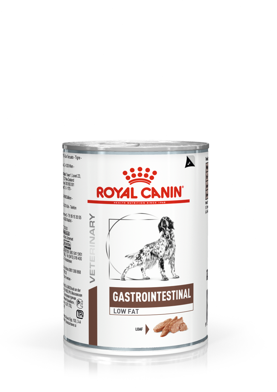Veterinary Diets Gastro Intestinal Low Fat Loaf Can