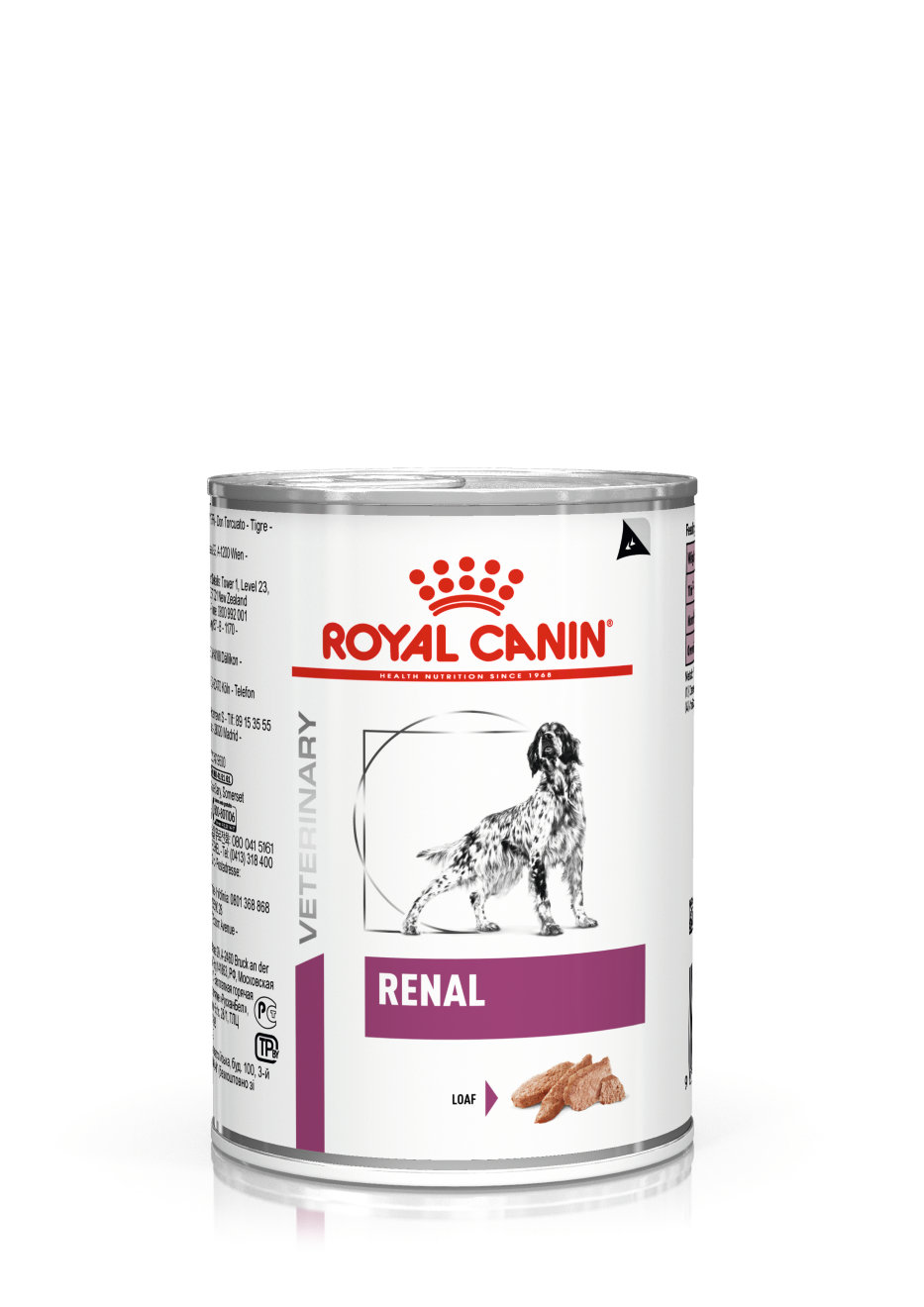 Veterinary Diets Renal Loaf Can - 12 x 410 g