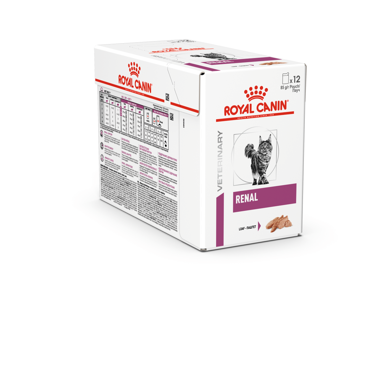 Veterinary Diets Vital Renal Loaf Pouch