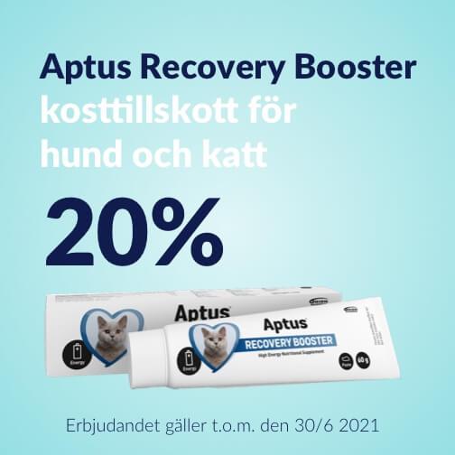 20 % rabatt på Recovery Booster från Aptus