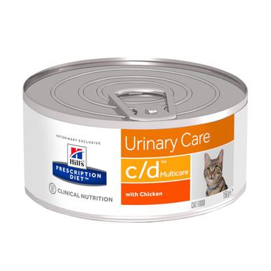 Prescription Diet c/d Multicare våtfoder med kyckling