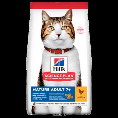 Mature Adult torrfoder med kyckling för katt