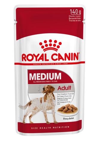 Medium Adult Våtfoder för hund