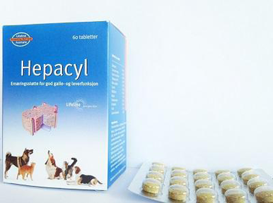 Hepacyl - 60 kapslar
