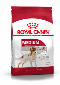 Medium Adult Torrfoder för hund