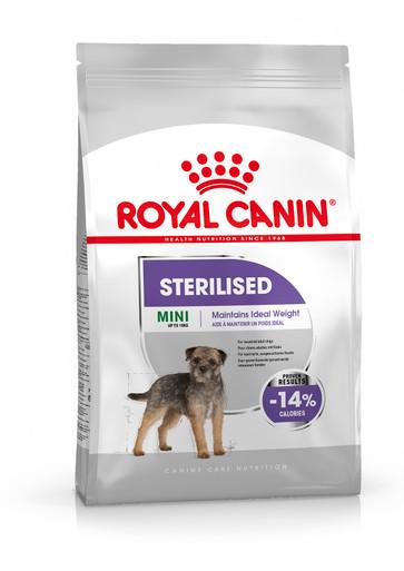 Sterilised Adult Mini Torrfoder för hund