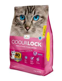 Odour Lock Baby Powder Parfymerad kattsand
