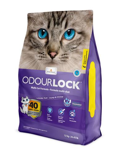 Odour Lock Lavender Field Parfymerad kattsand