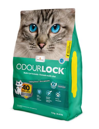 Odour Lock Calming Breeze Parfymerad kattsand