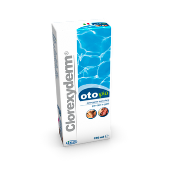 Clorexyderm oto più öronrengöring - 150 ml