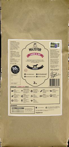 Lamm & Ris Adult Hundfoder - 6 kg
