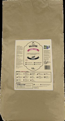Lamm & Ris Adult Hundfoder - 12 kg