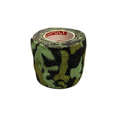 Självhäftande Bandage Kamoflagefärgad Grön