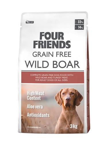 Grain Free Wild Boar Hundfoder