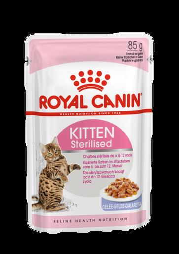 Sterilised Jelly Kitten Våtfoder för kattunge