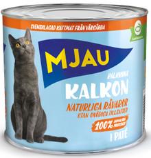 Kalkon Paté Våtfoder för Katt