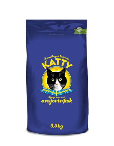 Ansjovis Torrfoder för katt