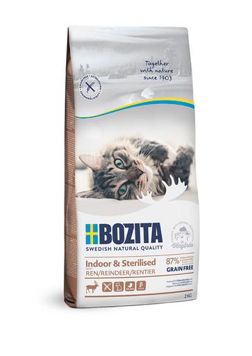 Indoor & Sterilised foder för katt