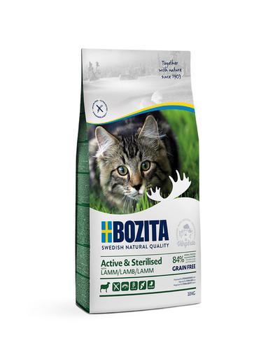 Active & Sterilized Lamb Spannmålsfritt foder för katt - 10 kg