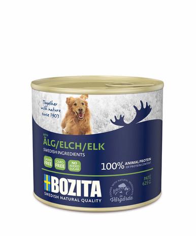 Älg Paté för hund - 12 st x 625 g
