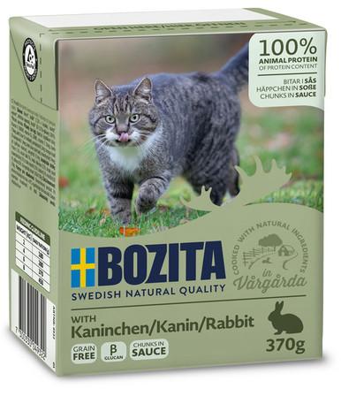 Bitar i sås Kanin för katt - 16 st x 370 g