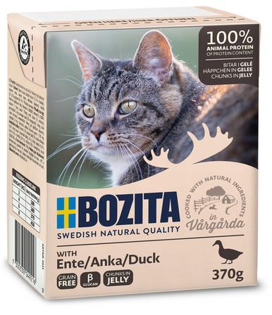 Bitar i sås Anka för katt - 16 st x 370 g