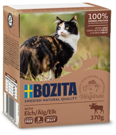 Bitar i sås Älg för katt - 16 st x 370 g