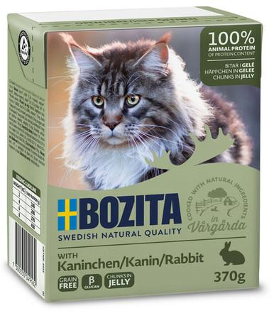 Bitar i Gelé Kanin för katt - 16 st x 370 g