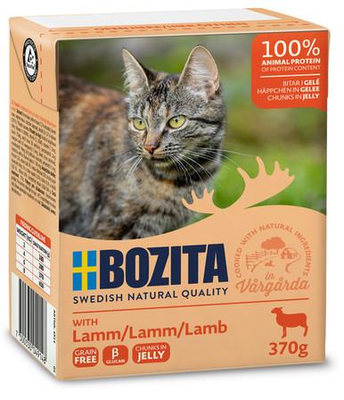 Bitar i Gelé Lamm för katt