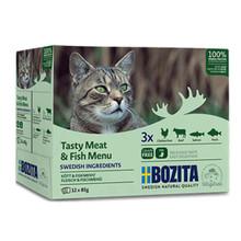 Multibox Kött & Fisk för katt