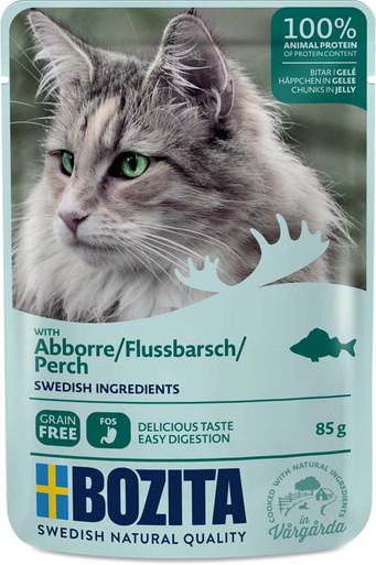 Abborre i gelé för katt - 12 st x 85 g