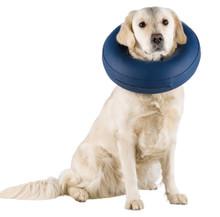 Uppblåsbar krage för hund