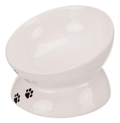 Keramikskål för katt