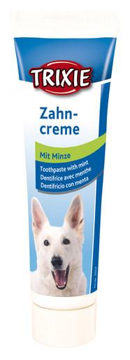 Tandkräm med mintsmak för hund