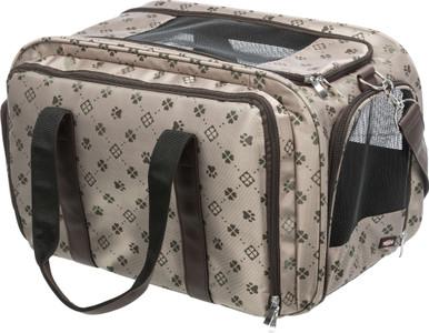 Maxima utfällbar väska för hund och katt