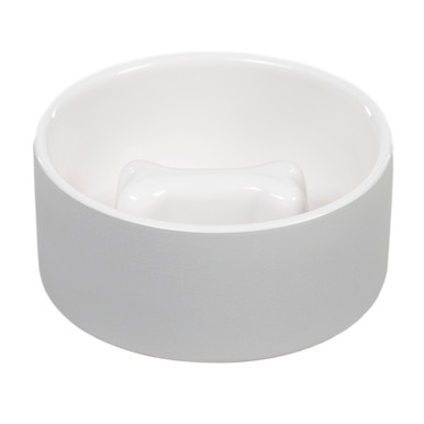 Cooling Bowl - M slow feed / Grå